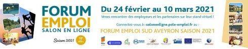 Forum Emploi Saisonnier 2021 Millau 650