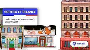Cafe hotel restaurant